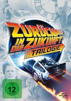 Zurück in die Zukunft - Trilogie DVD-Box - Michael J.Fox,Christopher Lloyd,Lea Thompson