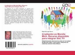 Irradiación en Morelia Mich. Recurso disponible para integrar Sist. FV