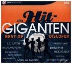 Best of Discofox, 3 Audio-CDs / Die Hit-Giganten, Audio-CDs