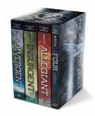 Divergent Series Set: Divergent, Insurgent, Allegiant, Four