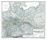 Hist. Karte: Preussen 1865 (plano)