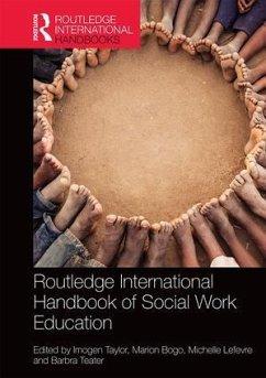 Routledge International Handbook of Social Work Education