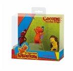 Bullyland 44061 - Spielfigurenset, kleiner Drache Kokosnuss