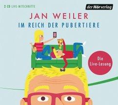 Im Reich der Pubertiere / Pubertier Bd.2 (2 Audio-CDs) - Weiler, Jan
