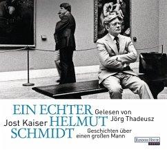 Ein echter Helmut Schmidt, 2 Audio-CDs - Kaiser, Jost