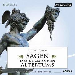Sagen des klassischen Altertums, 23 Audio-CDs - Schwab, Gustav