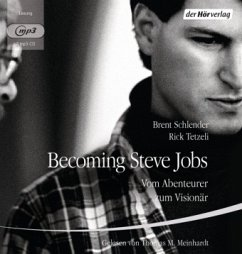 Becoming Steve Jobs, 2 MP3-CDs - Schlender, Brent; Tetzeli, Rick