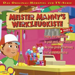 Disney Meister Manny's Werkzeugkiste - Folge 5 (MP3-Download) - Bingenheimer, Gabriele