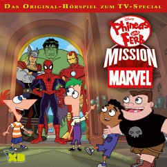 Disney - Phineas und Ferb: Mission Marvel (MP3-Download) - Bingenheimer, Gabriele; Szymczyk, Marian