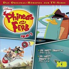 Disney - Phineas und Ferb - Folge 3 (MP3-Download) - Bingenheimer, Gabriele; Szymczyk, Marian