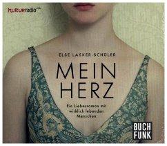 Mein Herz, 1 Audio-CD - Lasker-Schüler, Else