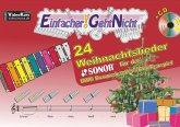Einfacher!-Geht-Nicht: 24 Weihnachtslieder für das SONOR BWG Boomwhackers Glockenspiel, m. 1 Audio-CD