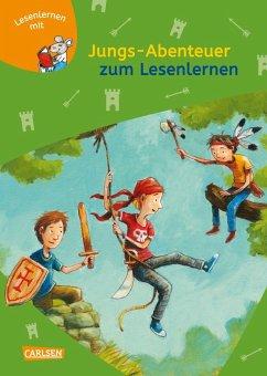 Jungs-Abenteuer zum Lesenlernen / Lesemaus zum Lesenlernen Sammelbd. Bd.28 - Scheffler, Ursel
