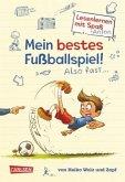 Mein bestes Fußballspiel! Also fast.. / Lesenlernen mit Spaß + Anton Bd.1