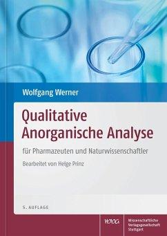 Qualitative Anorganische Analyse - Werner, Wolfgang