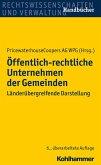 Öffentlich-rechtliche Unternehmen der Gemeinden (eBook, PDF)