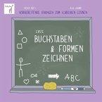 Erste Buchstaben & Formen zeichnen. Vicky Bo's vorbereitende Übungen zum Schreiben lernen. 4-6 Jahre