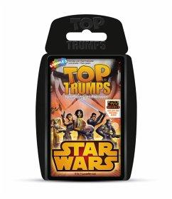 Winning Moves WIN62004 - Top Trumps, Star Wars Rebels, Kartenspiel, Quartett, Familienspiel