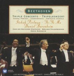 Tripelkonzert/Chorfantasie - Perlman,Itzhak/Ma,Yo-Yo/Barenboim,Daniel/Bp