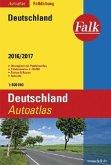 Falk Autoatlas Falkfaltung Deutschland 2016/2017 1:500 000