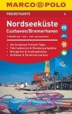 MARCO POLO Freizeitkarte Nordseeküste/Cuxhaven/Bremerhaven 1:100 000