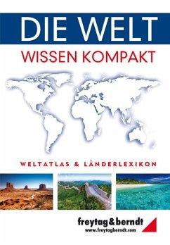 Die Welt - Wissen kompakt, Weltatlas und Länder...