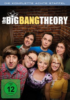 The Big Bang Theory - Die komplette 8. Staffel (3 Discs) - Johnny Galecki,Jim Parsons,Kaley Cuoco