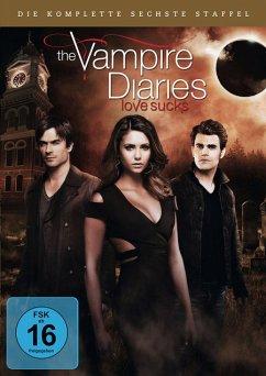The Vampire Diaries - Die komplette 6. Staffel (5 Discs) - Nina Dobrev,Paul Wesley,Ian Somerhalder