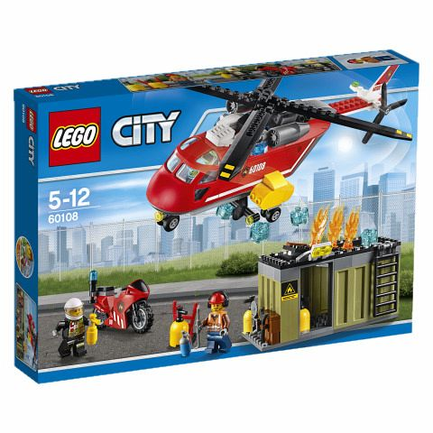 LEGO City 60108 Feuerwehr-Löscheinheit