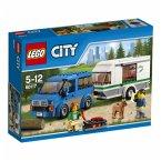 LEGO City 60117 - Van und Wohnwagen