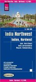 Reise Know-How Landkarte Indien, Nordwest (1:1.300.000); Northwest India / Inde, nord-ouest / India noroccidental