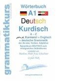 Wörterbuch Deutsch - Kurdisch-Kurmandschi- Englisch A1