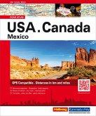 Hallwag Atlas USA Canada Mexico Straßenatlas
