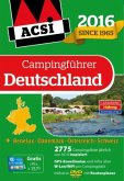 ACSI Campingführer Deutschland 2016 mit DVD