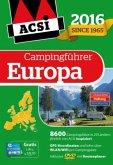 ACSI Internationaler Campingführer Europa 2016 mit DVD