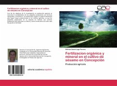 Fertilizacion orgánica y mineral en el cultivo de sésamo en Concepción