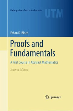 Proofs and Fundamentals (eBook, PDF) - Bloch, Ethan D.