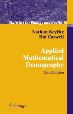 Applied Mathematical Demography (eBook, PDF) - Keyfitz, Nathan; Caswell, Hal
