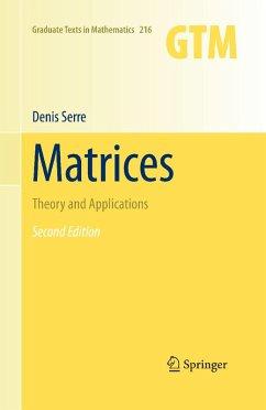 Matrices (eBook, PDF) - Serre, Denis