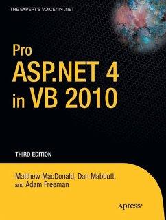 Pro ASP.NET 4 in VB 2010 (eBook, PDF) - Macdonald, Matthew; Mabbutt, Dan; Freeman, Adam