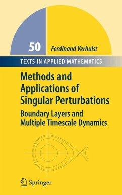 Methods and Applications of Singular Perturbations (eBook, PDF) - Verhulst, Ferdinand