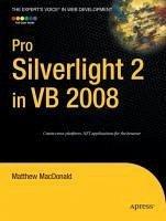 Pro Silverlight 2 in VB 2008 (eBook, PDF) - MacDonald, Matthew