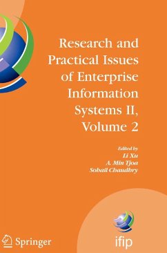 Research and Practical Issues of Enterprise Information Systems II Volume 2 (eBook, PDF)