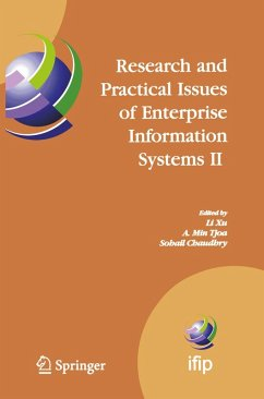 Research and Practical Issues of Enterprise Information Systems II Volume 1 (eBook, PDF)