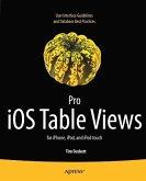 Pro iOS Table Views (eBook, PDF)