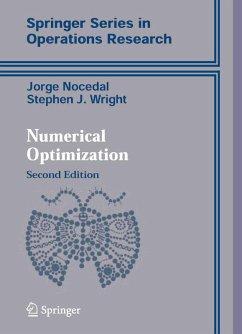 Numerical Optimization (eBook, PDF) - Nocedal, Jorge; Wright, Stephen