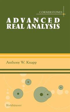 Advanced Real Analysis (eBook, PDF) - Knapp, Anthony W.