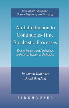 An Introduction to Continuous-Time Stochastic Processes (eBook, PDF) - Capasso, Vincenzo; Bakstein, David