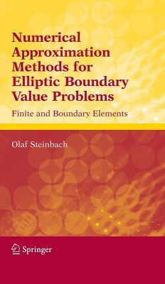 Numerical Approximation Methods for Elliptic Boundary Value Problems (eBook, PDF) - Steinbach, Olaf