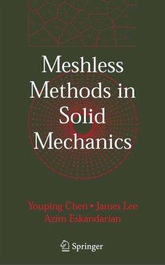 Meshless Methods in Solid Mechanics (eBook, PDF) - Chen, Youping; Lee, James; Eskandarian, Azim